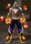Liu Kang God of Fire MK 11 dcuo