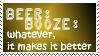 Stamp: Booze Is My Friend by glassharleydoll