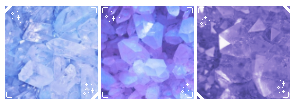 . f2u crystal page decor .