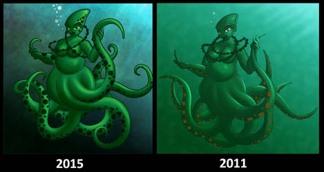Redraw Octopus Girl