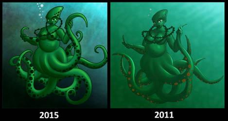 Redraw Octopus Girl