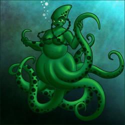 Octopus Girl 2015