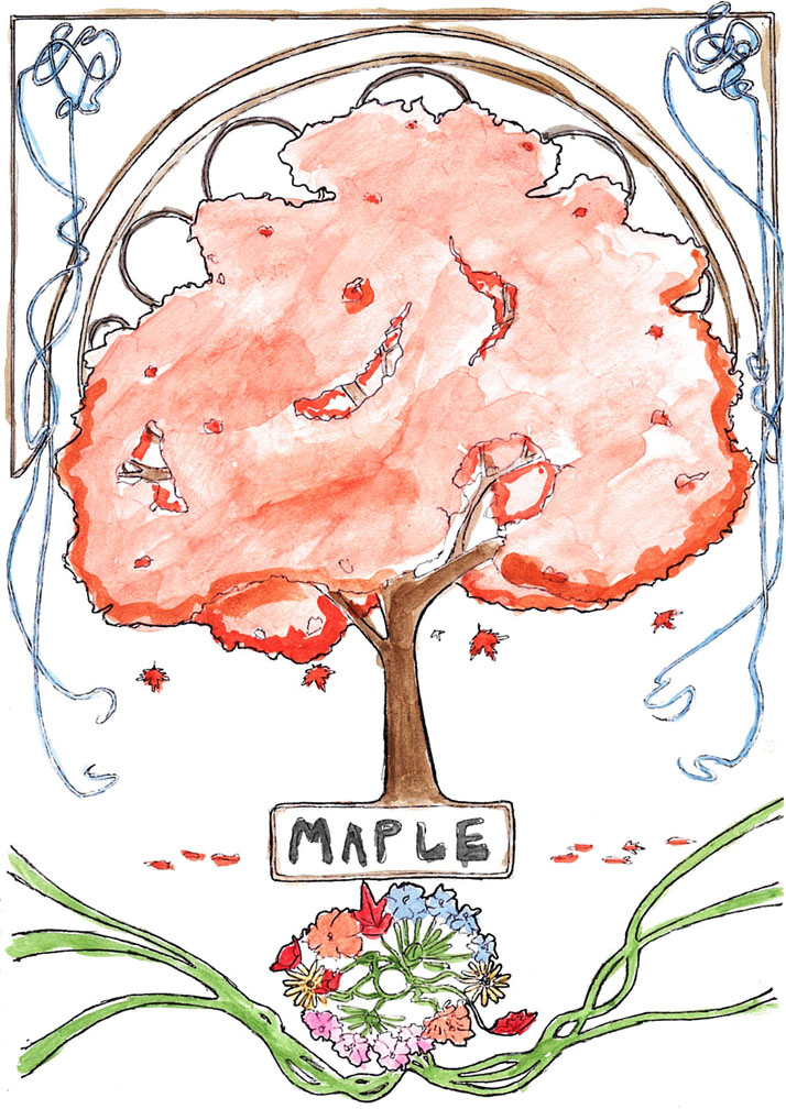 Art nouveau maple tree by goats on a boat on deviantart art nouveau maple tree by goats on a boat gumiabroncs Gallery