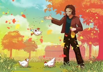 Stardew Valley - Feeding the... chickens? by TeachingMyselfSpeed