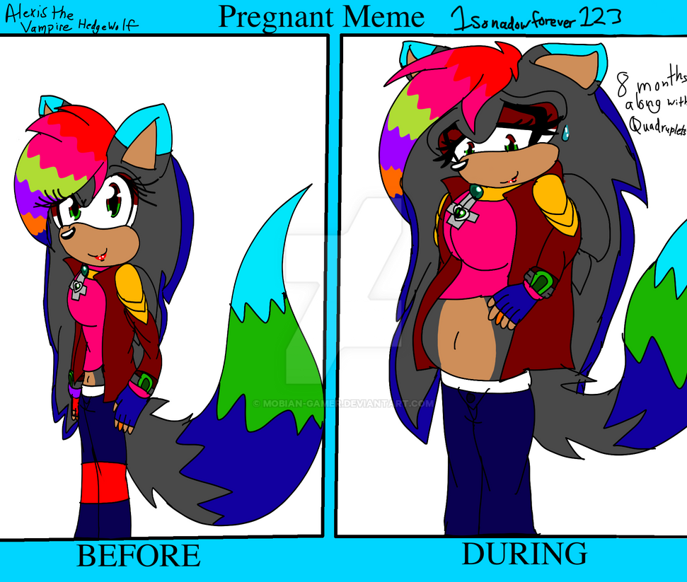 Alexis pregnant meme by Mobian-Gamer on DeviantArt