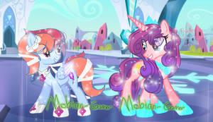 Crystal Princess's Magic Flight and Amore Crystal