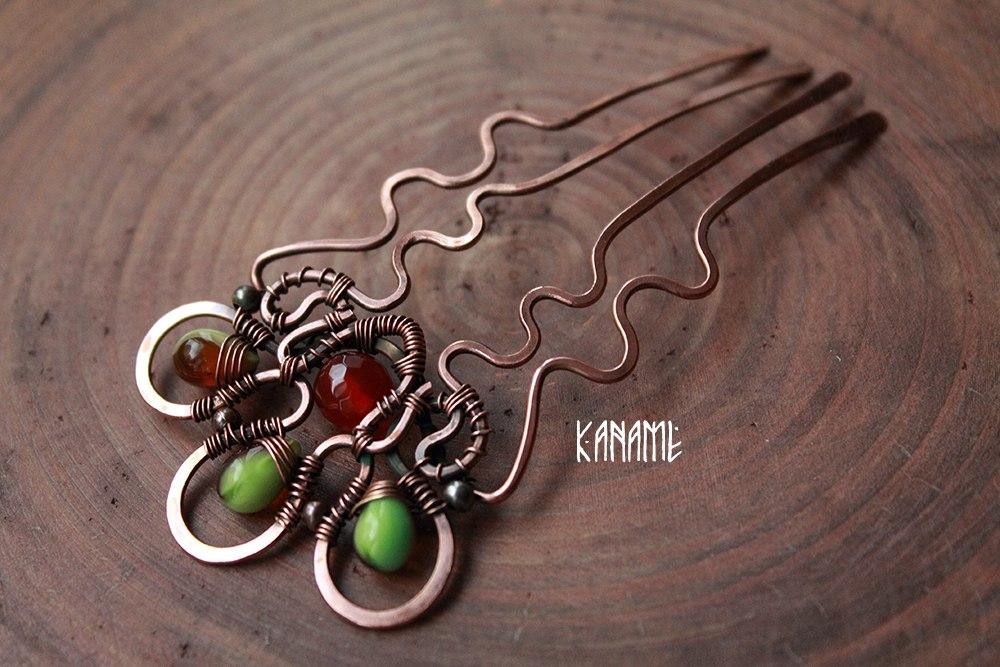 Green Hairpin by Kaname-Kirito
