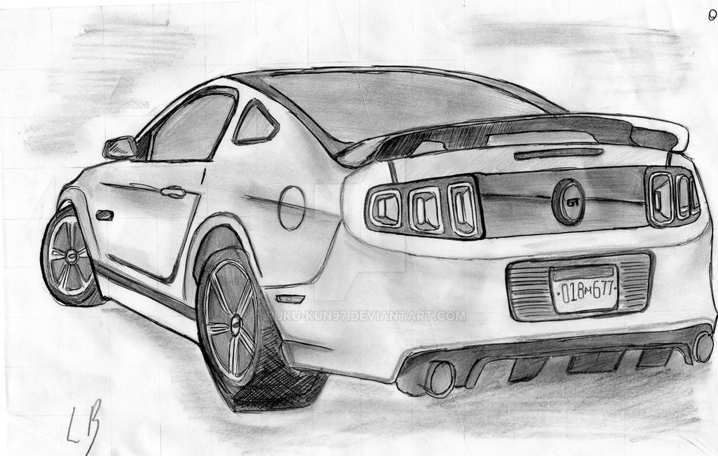 Ford Mustang Gt 2013 By Ruku Kun97 On Deviantart