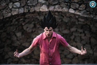 Vegeta Badman - Cosplay by Davide Ravera