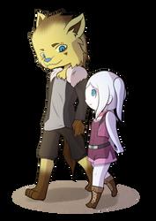 Kiba and Himitsu