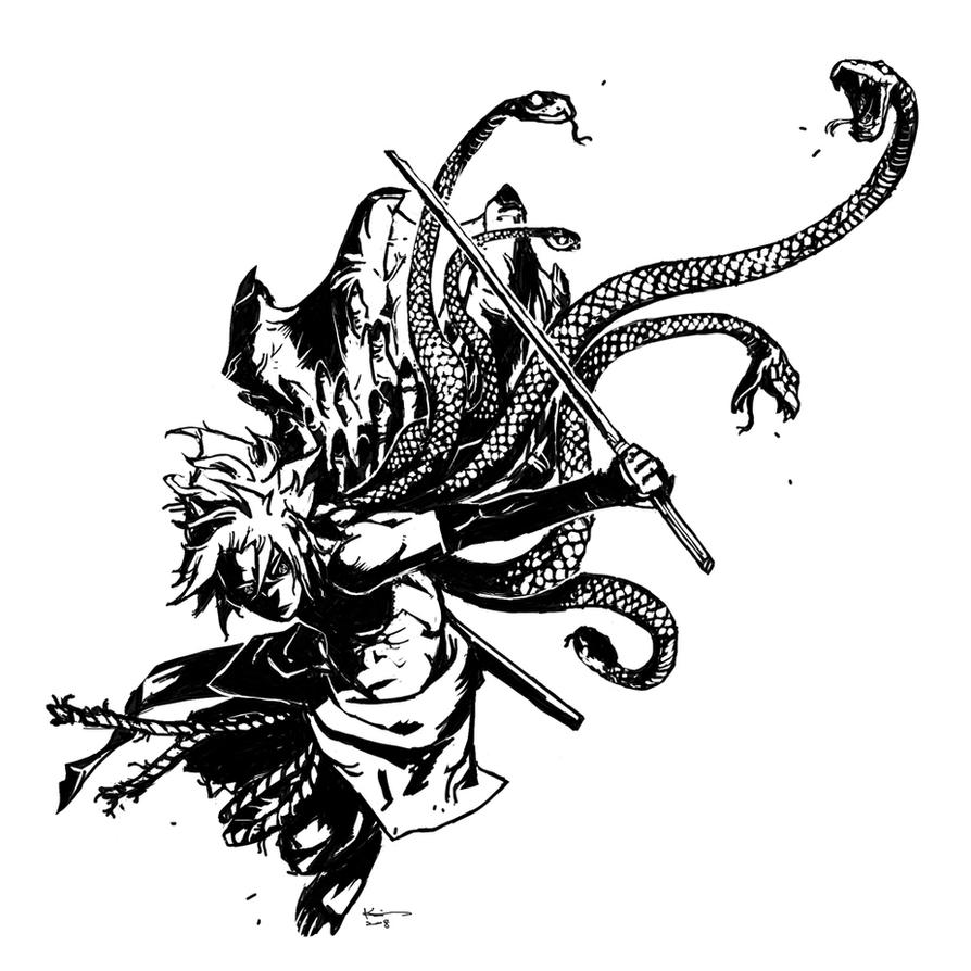 Sasuke Fanart by kian02
