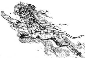 cloud centaur by kian02