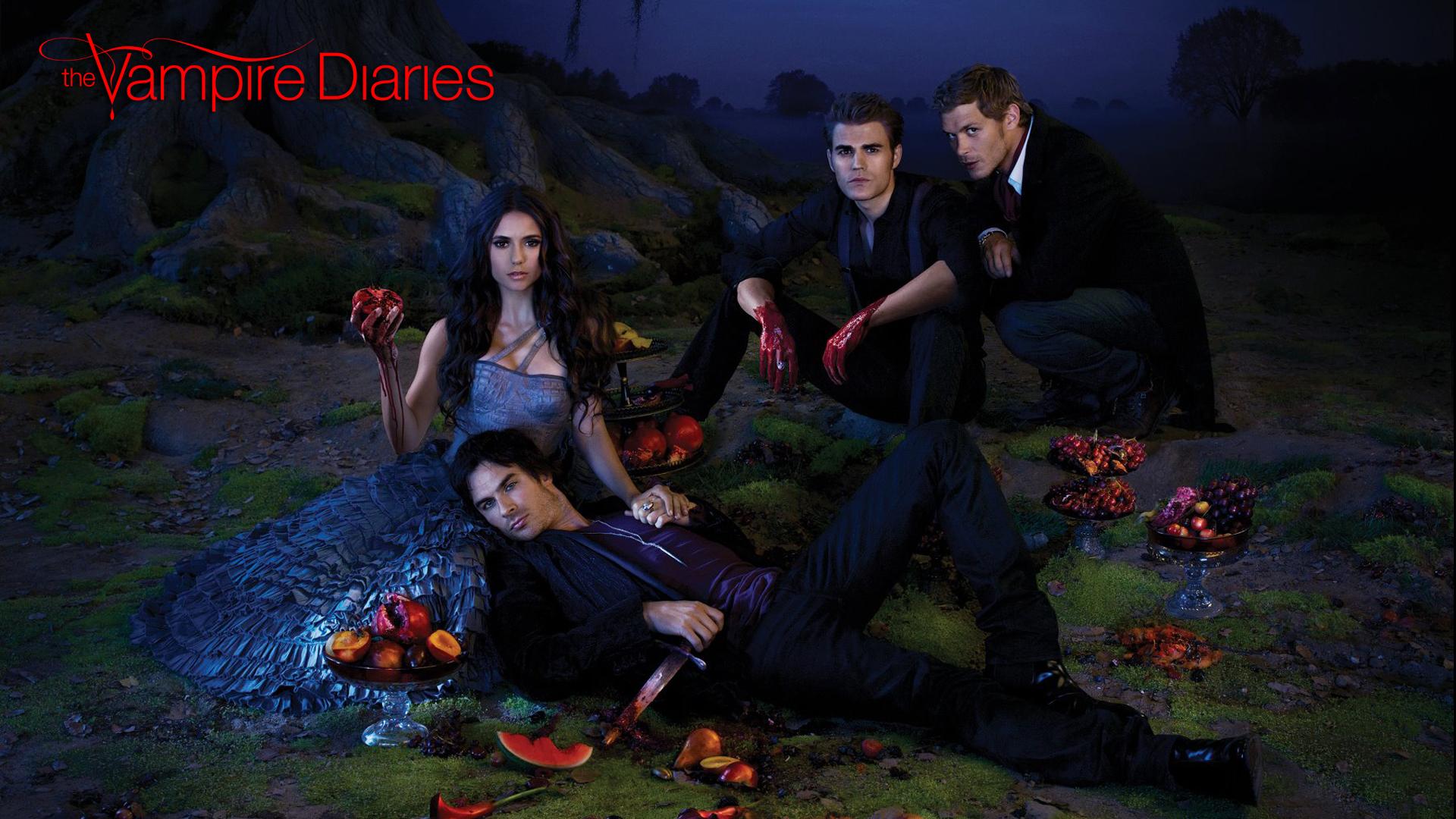 Vampire Diaries Wallpaper Gossip Girl The Vampire Diaries TVD