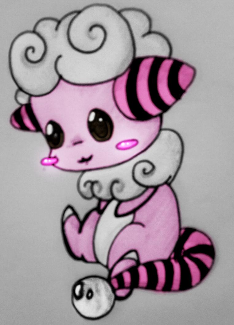 Chibi Flaaffy by xXFF7xYaoixX