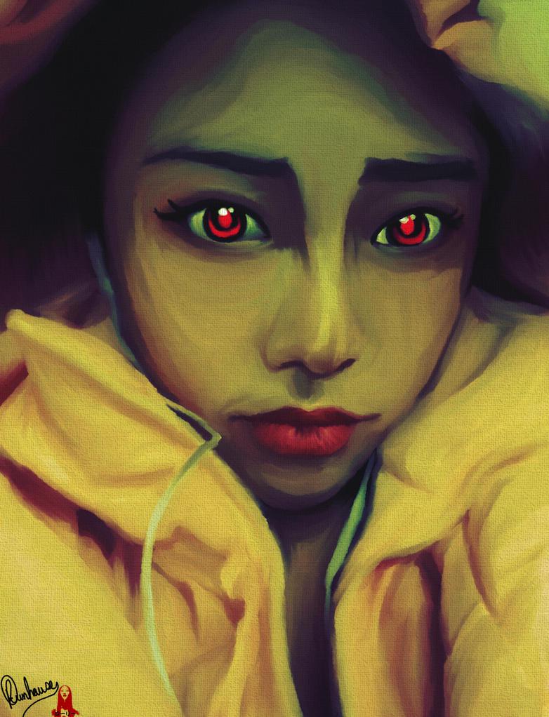 Red Eyed Andriod by Shinzoheddo