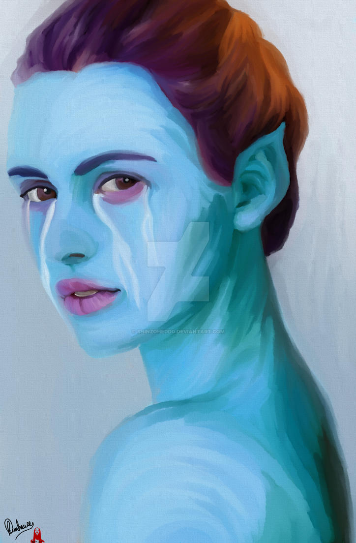 The Sad Blue Elf by Shinzoheddo