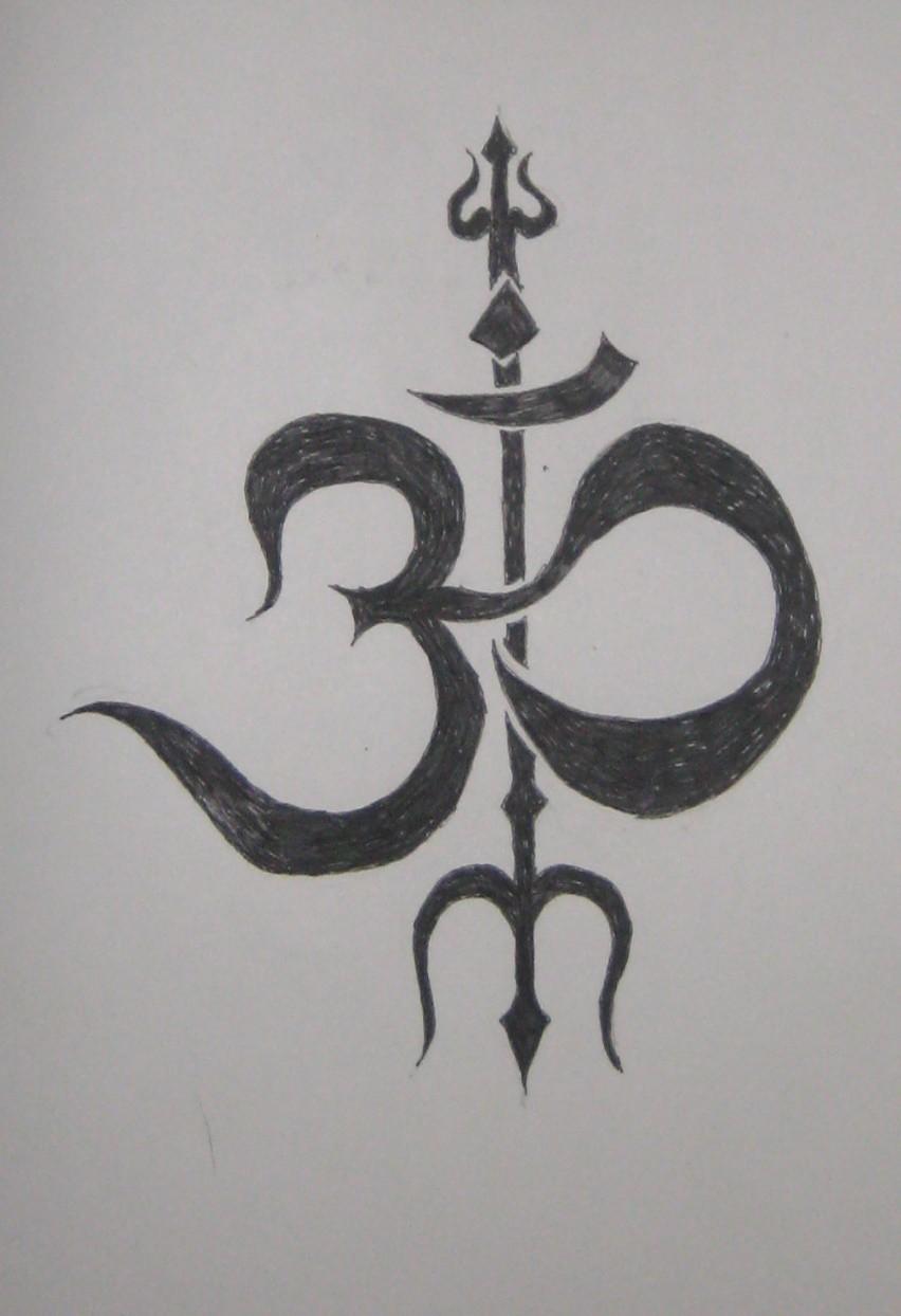 Om Trishul Tattoo Design By Chaosolace On Deviantart