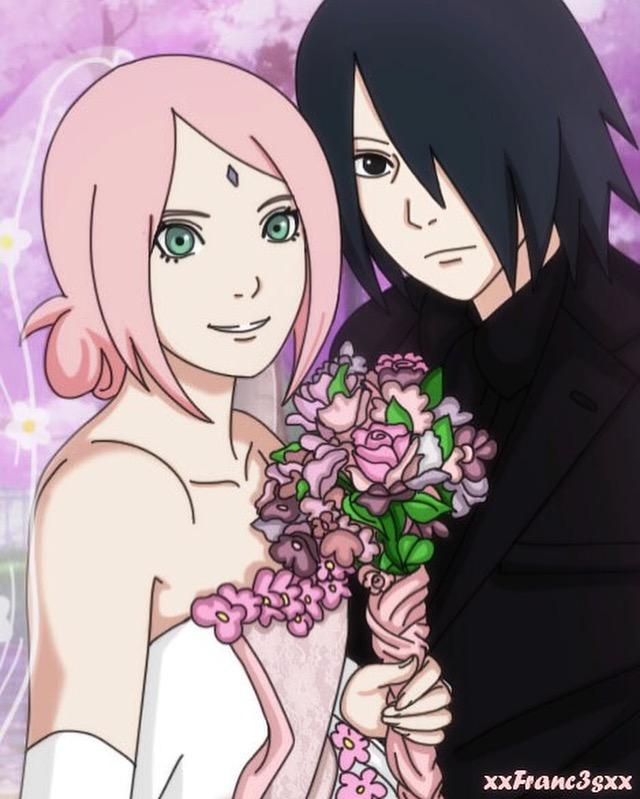 Sasusaku Wedding by Franc3s on DeviantArt