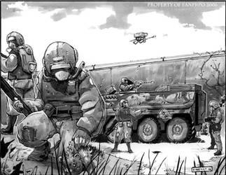 Soldiers finding crazy stuff by FelixMertikat