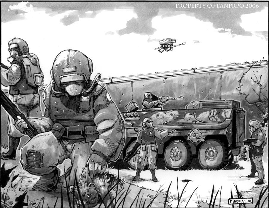Soldiers finding crazy stuff by FelixMertikat on DeviantArt