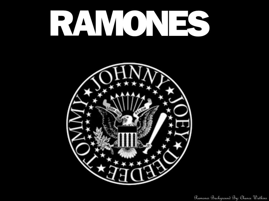 Ramones Logo Wallpaper by StarWarsMedia