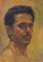 Self portrait 4 by bbijann