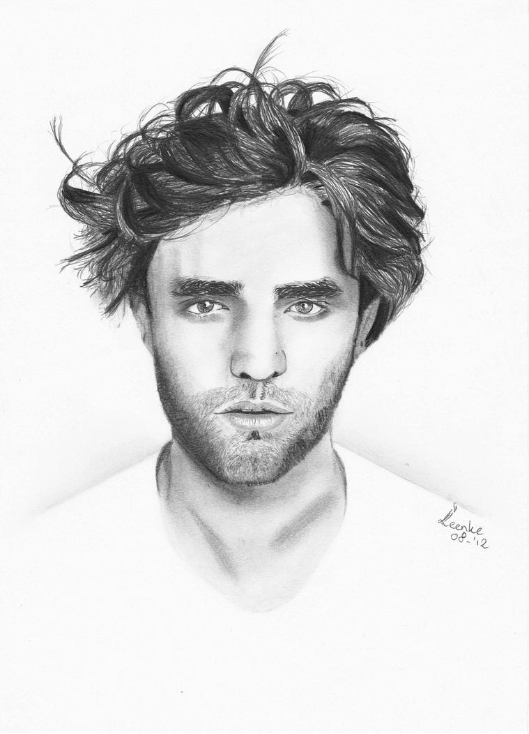 Robert Pattinson by Leenke