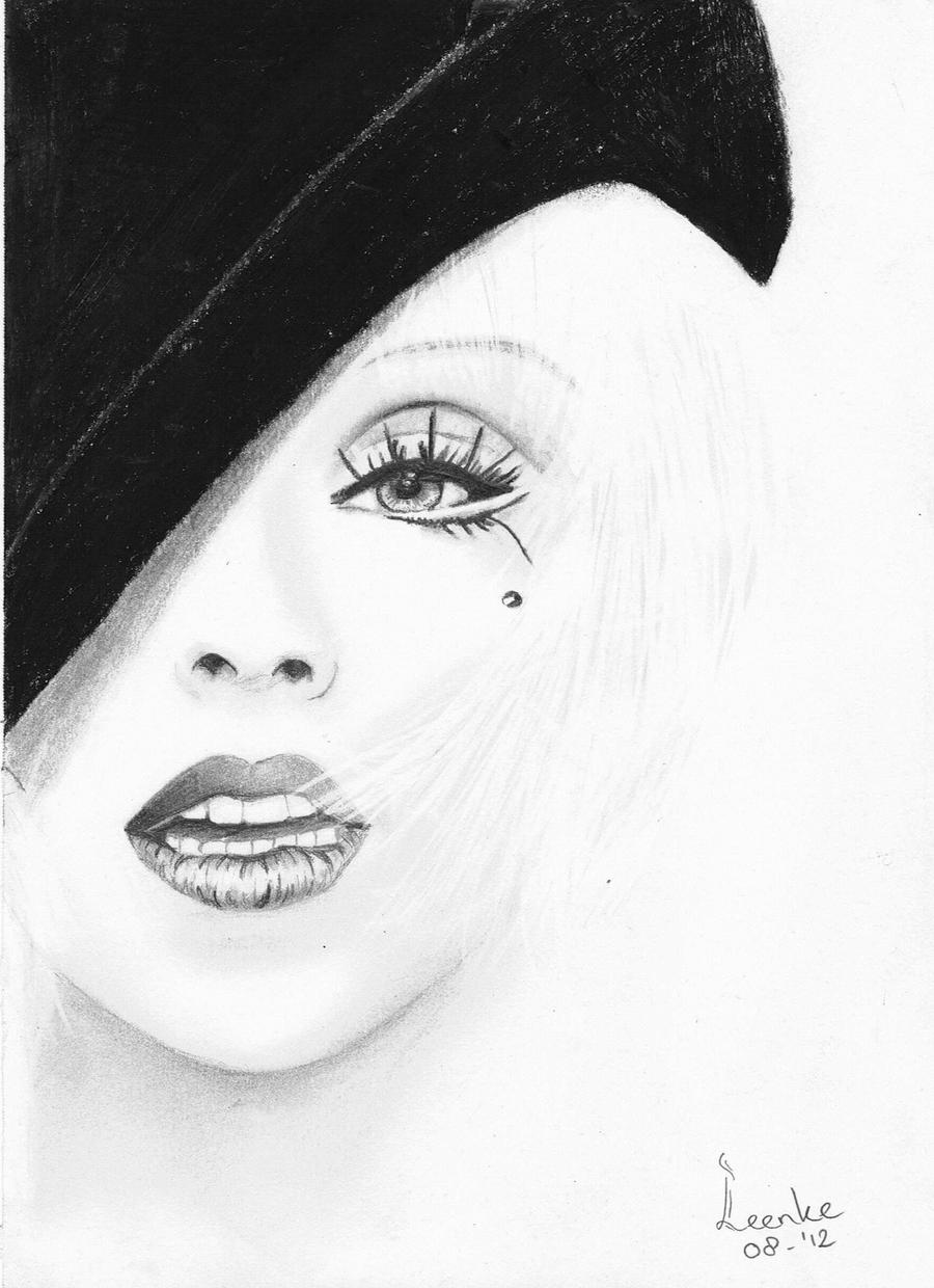 Christina Aguilera by Leenke