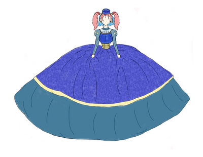 Jessica as a lady in King Trode's court by planxtafroggie