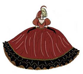 Vanessas Ball gown by planxtafroggie