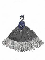 Sabrina War era Traveler Dress by planxtafroggie