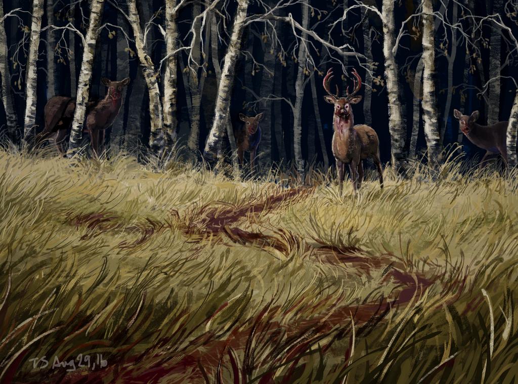 Deer? by inkatt