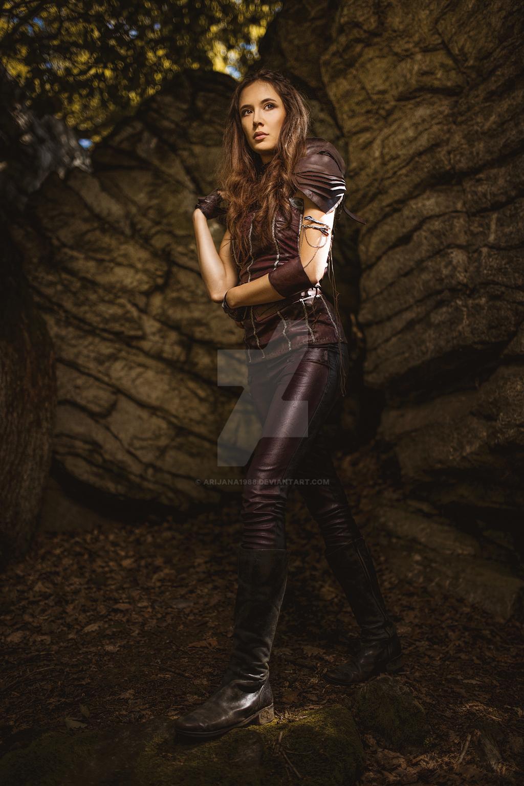 Amberle Elessedil Cosplay, the Shannara Chronicles