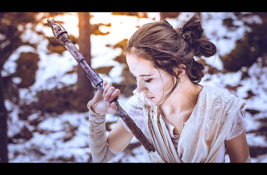 Rey Cosplay - Star Wars Force Awakens