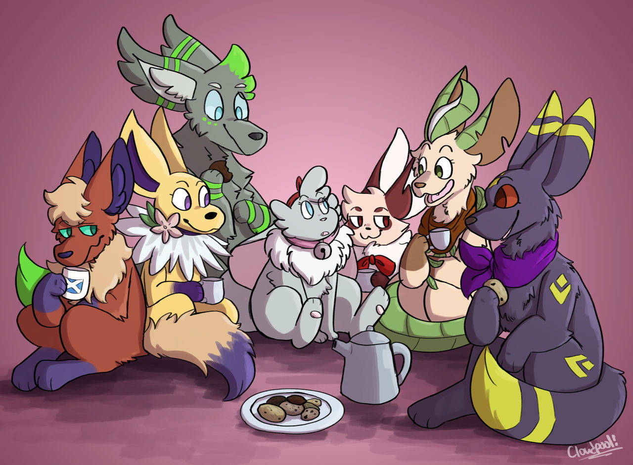 Me And The Eevee Boys
