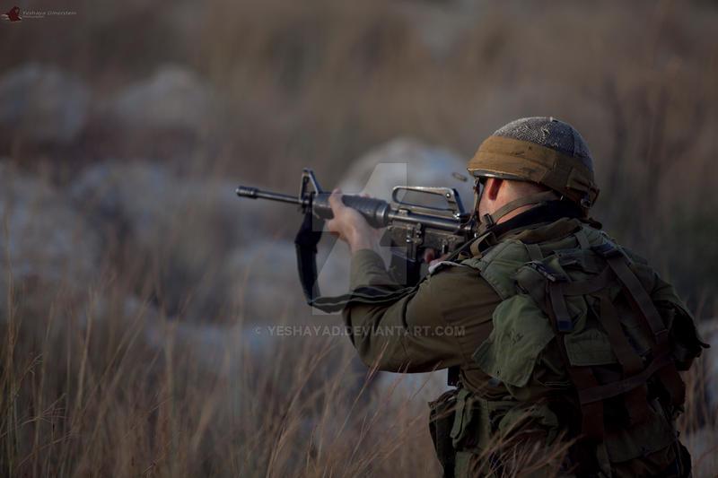 combat training of Regev battalion by yeshayad