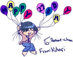 Happy Bday Danime-chan