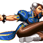 Chun Li in KoF XII style by Alejandro-Mikros