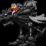 Terra on a Magitek Armor by Alejandro-Mikros