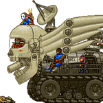 metalslug-ish shadaloo tank by Alejandro-Mikros