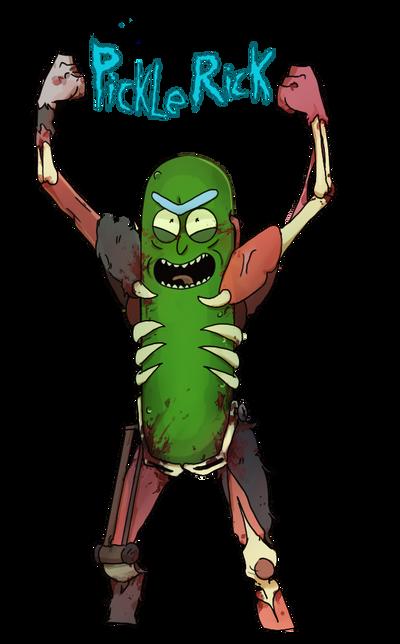 Pickle Rick by UnUsuariomas79 on DeviantArt