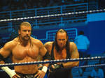 Triple H and the Undertaker