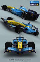 Renault F1 2005 by buckas