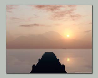 Catching the Dawn by buckas