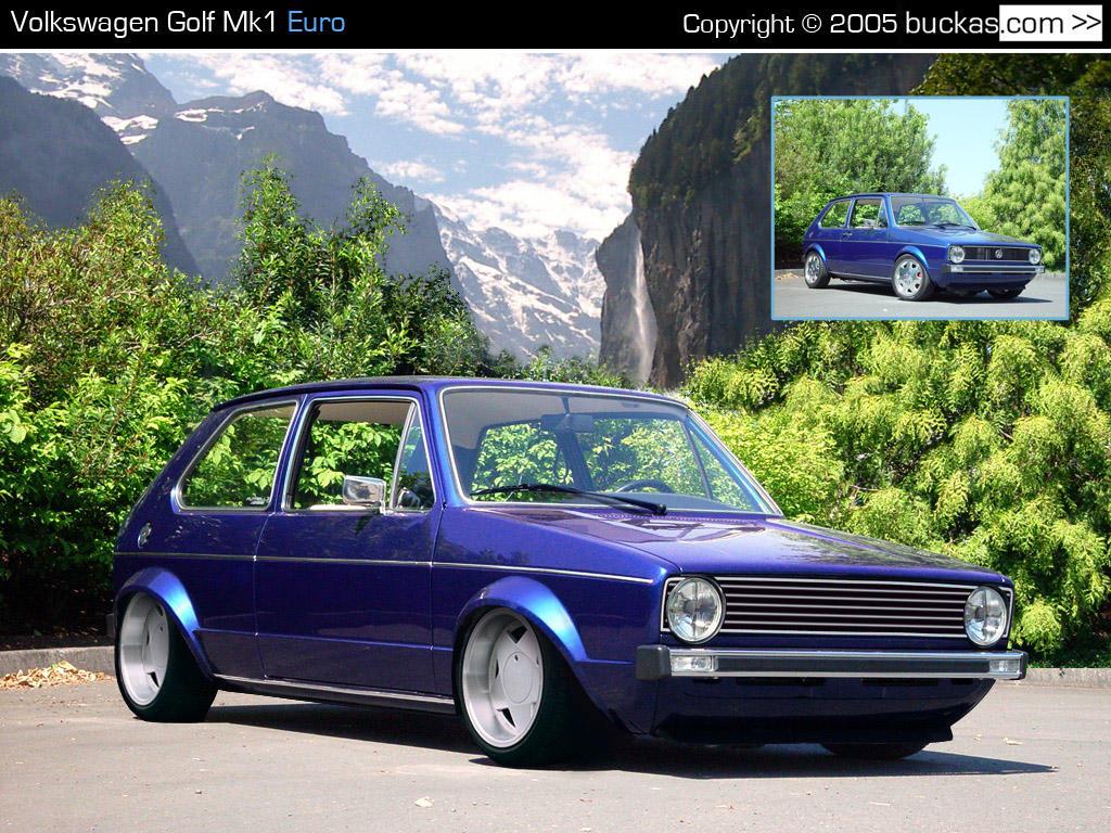 Volkswagen Golf Mk1 Euro by