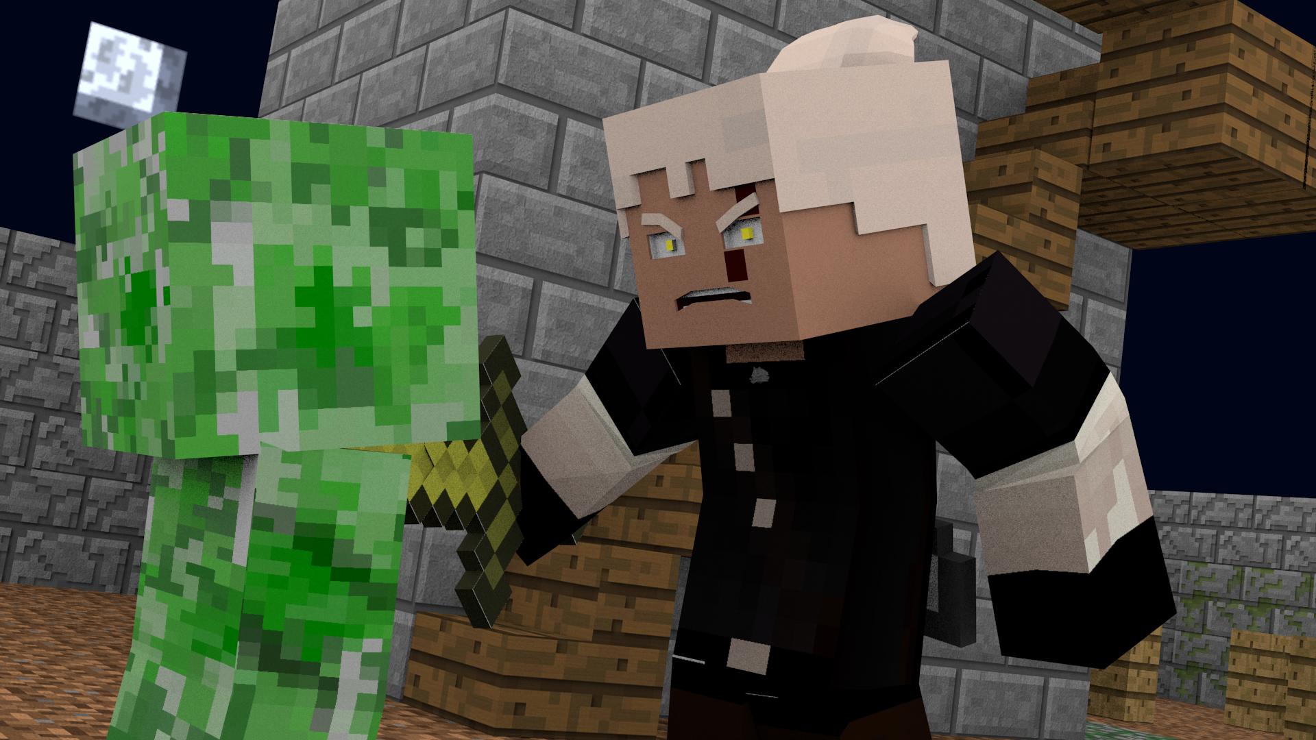 Minecraft Witcher v10 by DarthKedar on DeviantArt