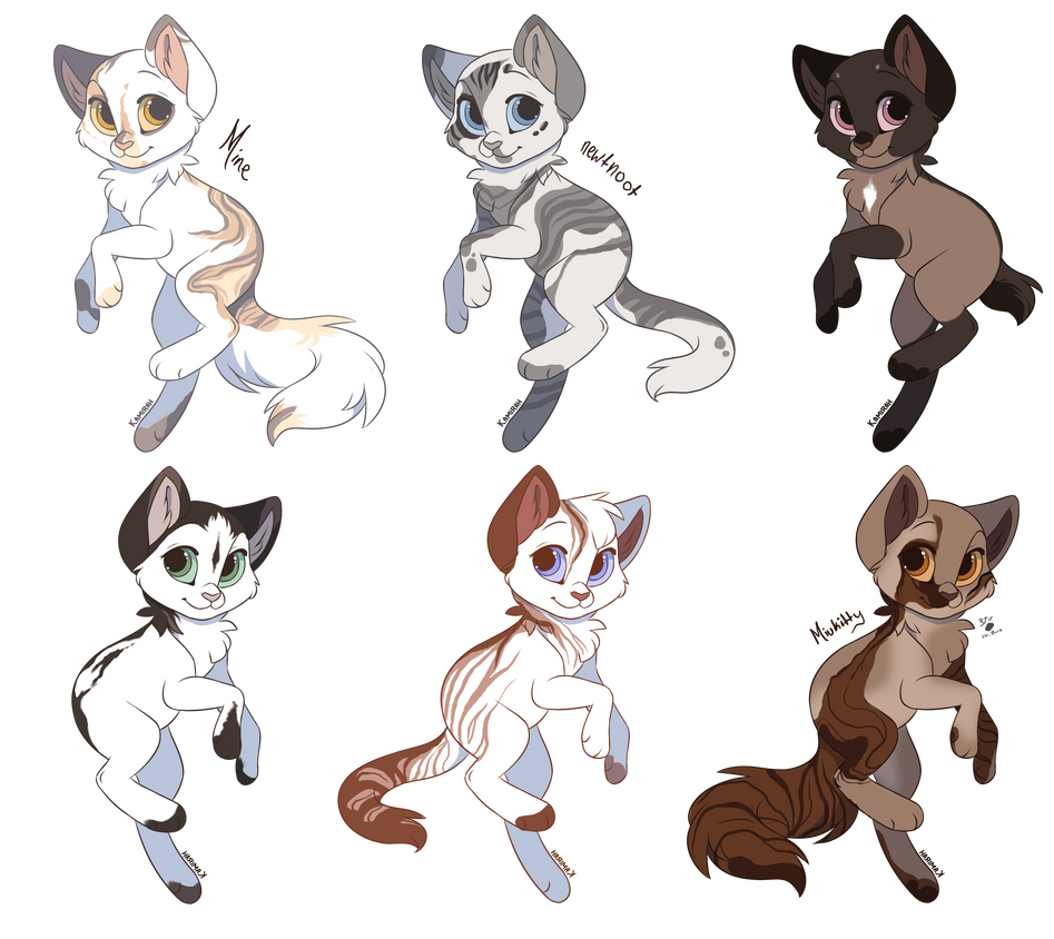 Warrior Cats Kit To Leader Bloodclan: Closed By Moietea On DeviantArt