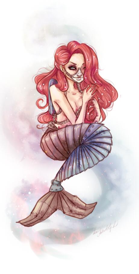 Mermaid goes steampunk by MissFreakyLuce