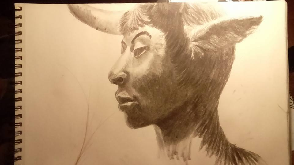 *To be updated* Satyr girl of Mary Sibande by AnthropomorPhillie