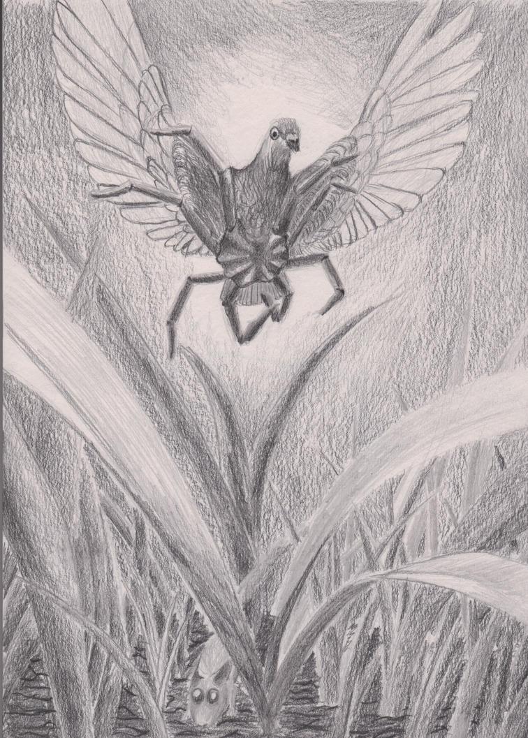 Spider Pig(eon) by IchorData